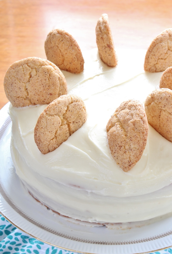 Snickerdoodle Chocolate Chip Cake | Gluten Free | Thoroughly Nourished Life | thoroughlynourishedlife.com