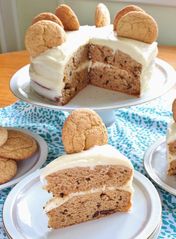Snickerdoodle Chocolate Chip Cake | Gluten Free | Thoroughly Nourished Life | thoroughlynourishedlife.com