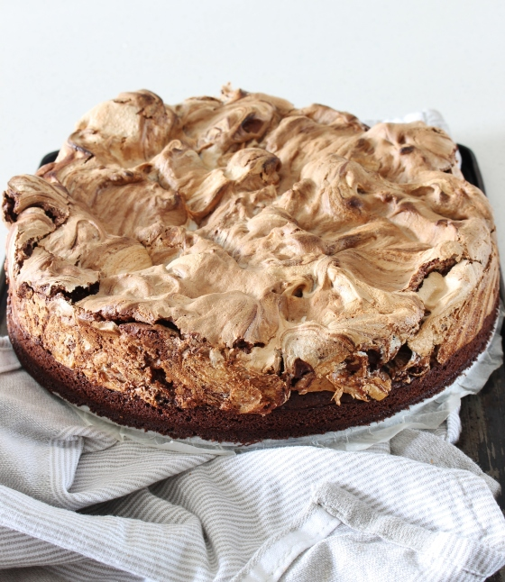 Mexican Chocolate Meringue Cake | Gluten Free | Thoroughly Nourished Life