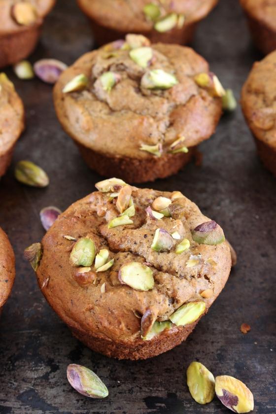 Pistachio Chai Muffins   Gluten Free   Thoroughly Nourished Life