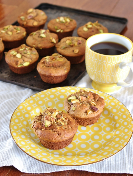 Pistachio Chai Muffins | Gluten Free | Thoroughly Nourished Life