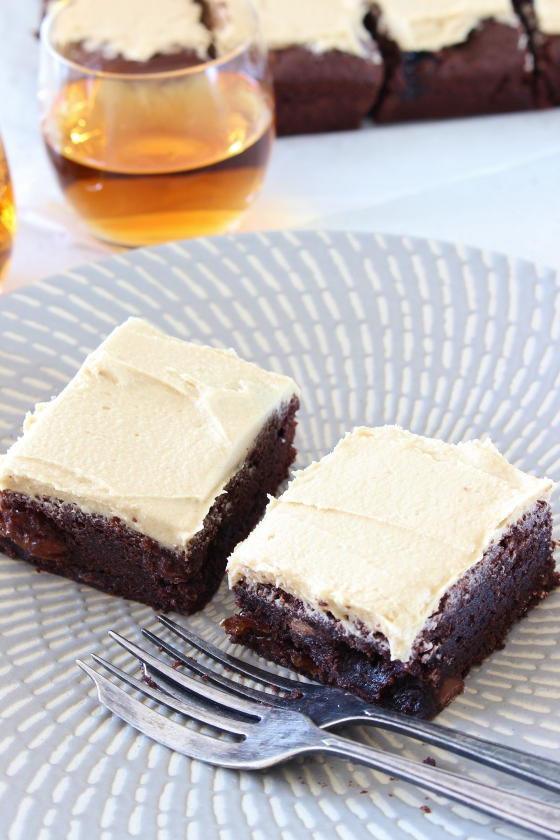 Rum and Raisin Brownies | Gluten Free | Thoroughly Nourished Life