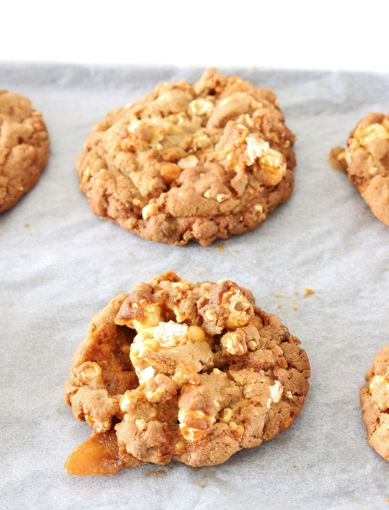 Salted Caramel Popcorn Cookies   Gluten Free   Thoroughly Nourished Life