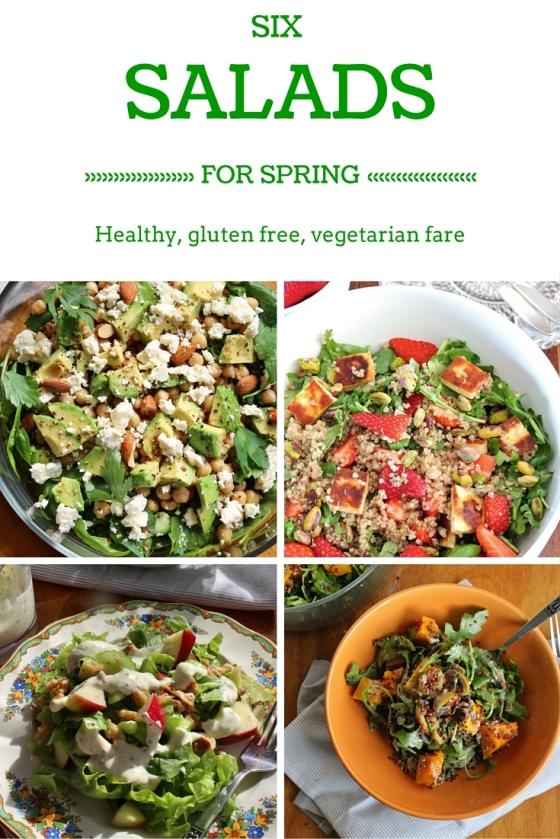 Six Salads for Spring | Gluten Free | Vegetarian | Thoroughly Nourished Life