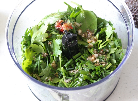 Chimichurri Quinoa Salad | vegetarian | gluten free | Thoroughly Nourished Life